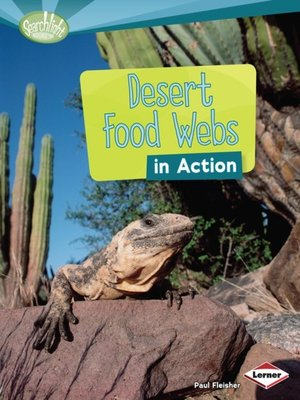 cover image of Desert Food Webs in Action