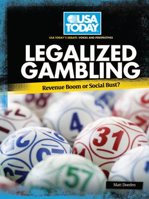 cover image of Legalized Gambling