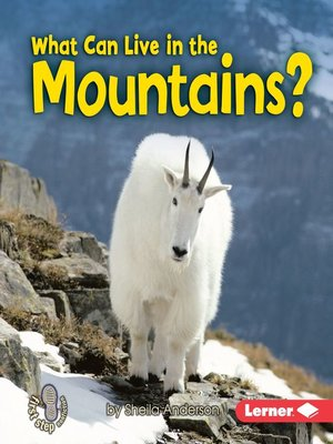 cover image of What Can Live in the Mountains?