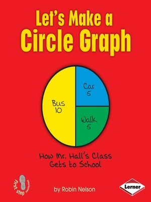 cover image of Let's Make a Circle Graph