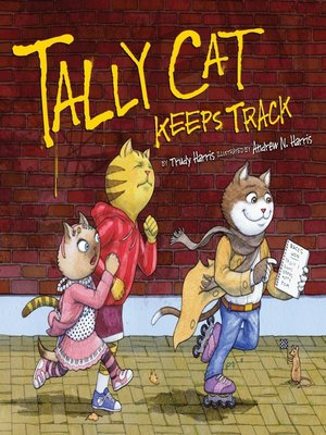cover image of Tally Cat Keeps Track