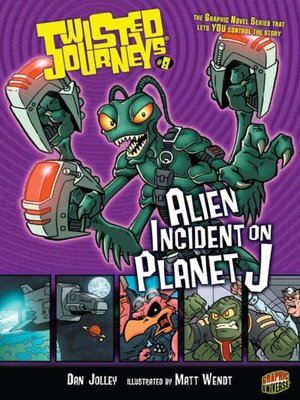 cover image of #08 Alien Incident on Planet J