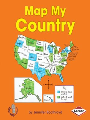 cover image of Map My Country