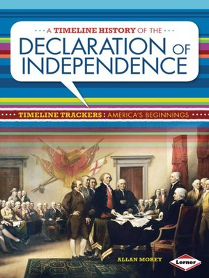 cover image of A Timeline History of the Declaration of Independence