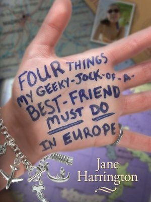 cover image of Four Things My Geeky-Jock-of-a-Best-Friend Must Do in Europe