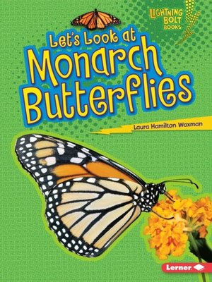 cover image of Let's Look at Monarch Butterflies