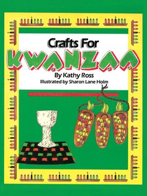 cover image of Crafts for Kwanzaa