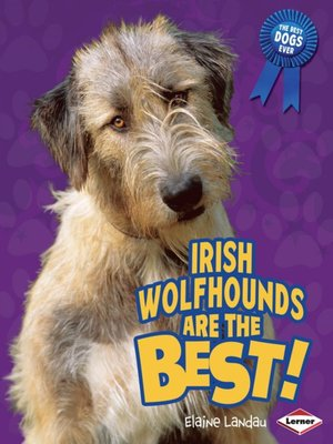 cover image of Irish Wolfhounds Are the Best!