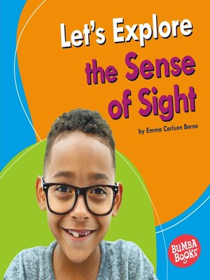 cover image of Let's Explore the Sense of Sight