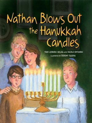 cover image of Nathan Blows Out the Hanukkah Candles