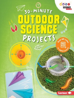 cover image of 30-Minute Outdoor Science Projects