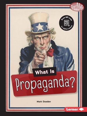 cover image of What Is Propaganda?
