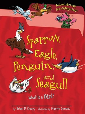 cover image of Sparrow, Eagle, Penguin, and Seagull