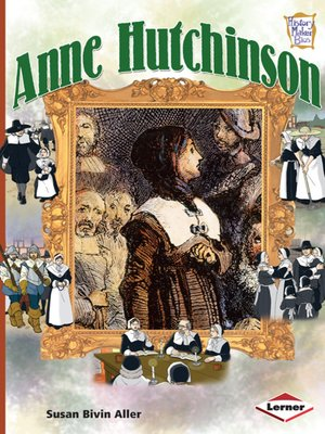 cover image of Anne Hutchinson