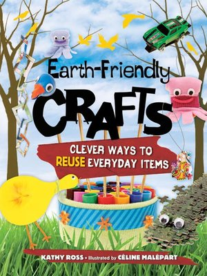 cover image of Earth-Friendly Crafts