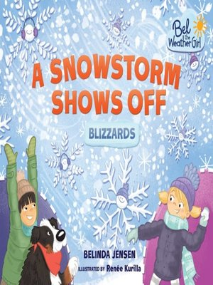 cover image of A Snowstorm Shows Off