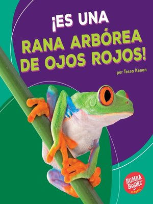 cover image of ¡Es una rana arbórea de ojos rojos! (It's a Red-Eyed Tree Frog!)