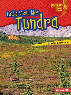 cover image of Let's Visit the Tundra