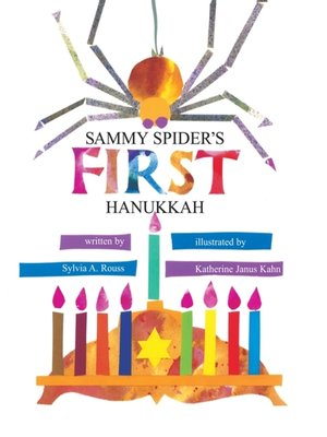 cover image of Sammy Spider's First Hanukkah