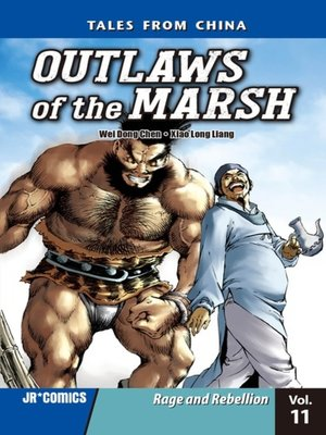 cover image of Outlaws of the Marsh, Volume 11