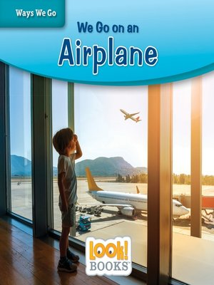 cover image of We Go on an Airplane