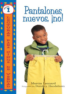 cover image of Pantalones nuevos, ¡no! (No New Pants!)
