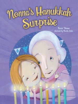 cover image of Nonna's Hanukkah Surprise