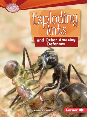cover image of Exploding Ants and Other Amazing Defenses