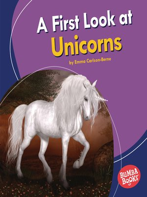cover image of A First Look at Unicorns