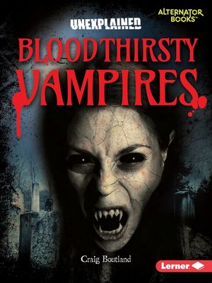 cover image of Bloodthirsty Vampires