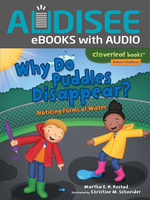cover image of Why Do Puddles Disappear?