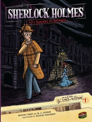 cover image of Sherlock Holmes and a Scandal in Bohemia