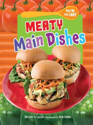 cover image of Meaty Main Dishes