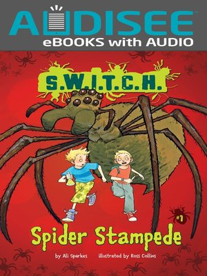 cover image of Spider Stampede