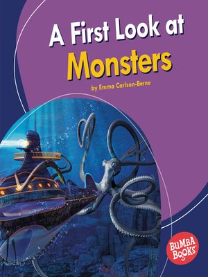 cover image of A First Look at Monsters