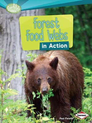 cover image of Forest Food Webs in Action