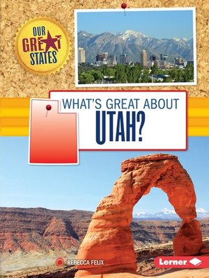 cover image of What's Great about Utah?