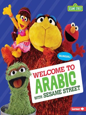 cover image of Welcome to Arabic with Sesame Street ®
