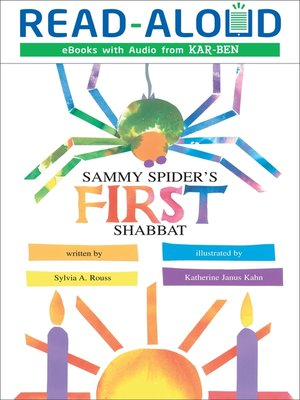 cover image of Sammy Spider's First Shabbat