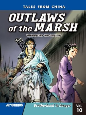 cover image of Outlaws of the Marsh, Volume 10
