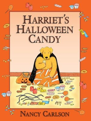 cover image of Harriet's Halloween Candy