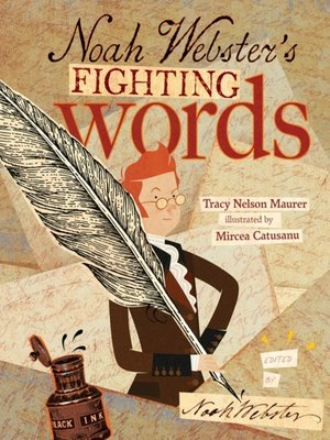 cover image of Noah Webster's Fighting Words