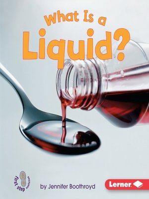 cover image of What is a Liquid?