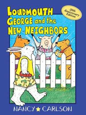 cover image of Loudmouth George and the New Neighbors