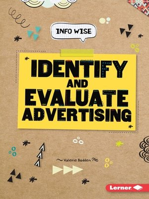 cover image of Identify and Evaluate Advertising