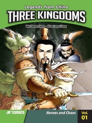 cover image of Three Kingdoms, Volume 1
