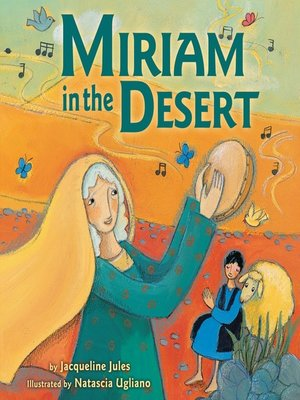 cover image of Miriam in the Desert