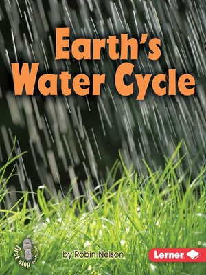 cover image of Earth's Water Cycle