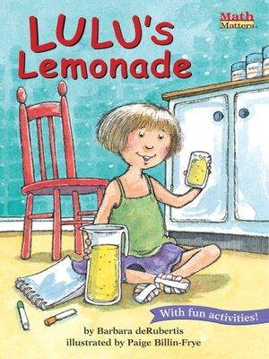cover image of Lulu's Lemonade