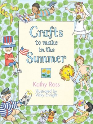 cover image of Crafts to Make in the Summer